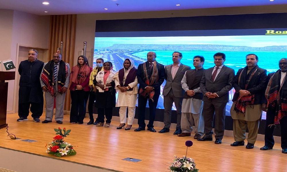 President Parliament of DjiBouti and delegates on Gwadar Visit.